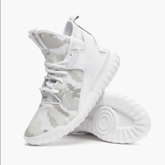fbd150afa5ce adidas Other - Adidas Originals Tubular X White Snow Camo Sneaker